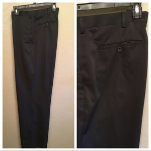 CLAIBORNE BLACK SLACKS 40x32